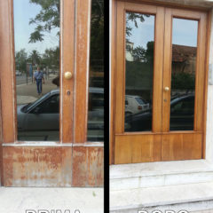 restauro porta